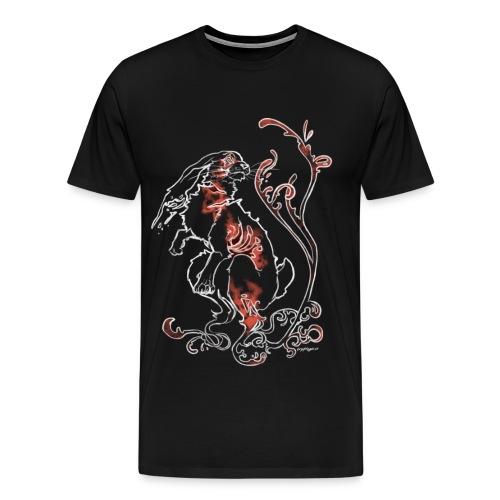 White Hare Tee - Men's Premium T-Shirt