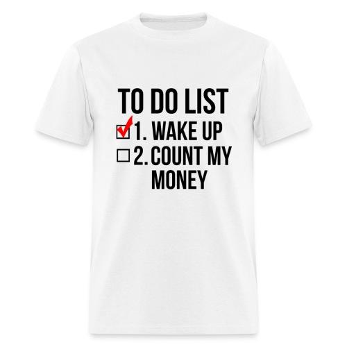To-Do List - MENS - Men's T-Shirt