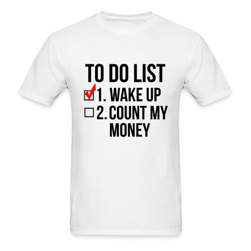 To-Do List - MENS - Men's T-Shirt