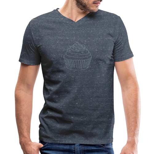 Cupcake - Men's V-Neck T-Shirt by Canvas