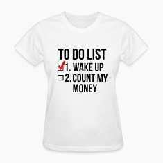 To-Do List Women's T-Shirts