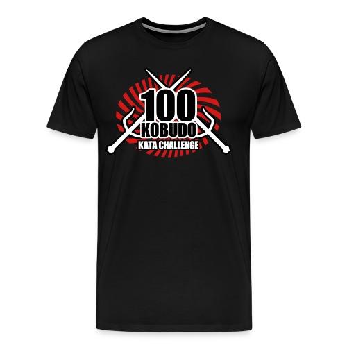100 Okinawa Kobudo Kata Challenge 2016 Mens T-Shirt 3 - Men's Premium T-Shirt