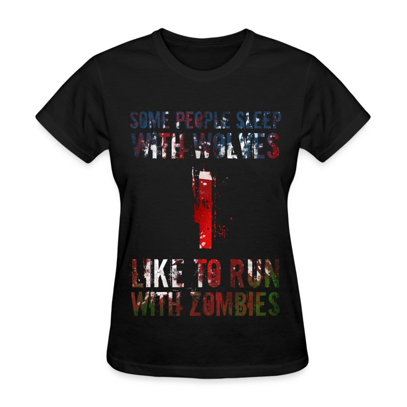 Wolves, Zombies - Women's T-Shirt