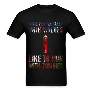 Wolves, Zombies - Men's T-Shirt