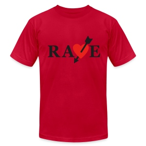 Vincent's RA*E shirt - Men's T-Shirt by American Apparel