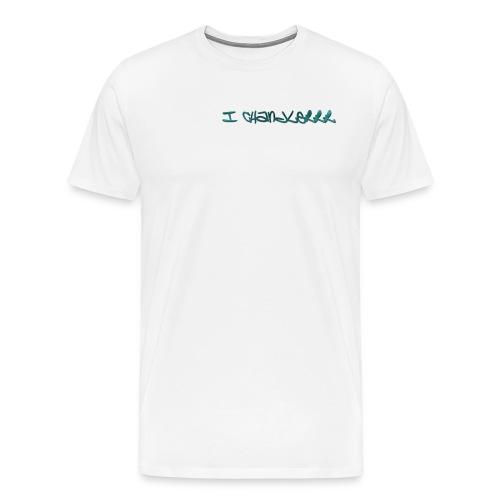 i Chandlerrr Grafiti T-Shirt - Men's Premium T-Shirt