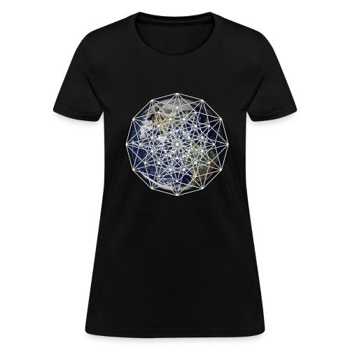 6D Earth - Women's T-Shirt