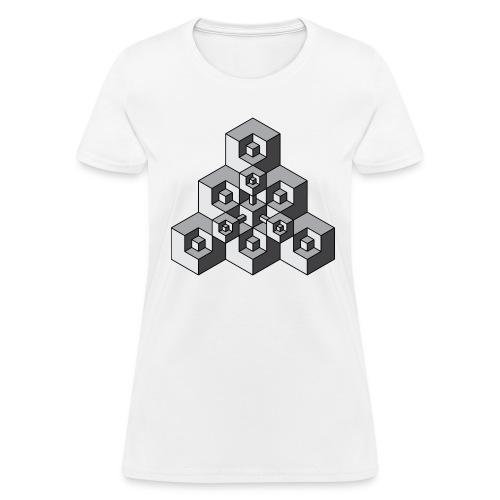 Cubic - Women's T-Shirt