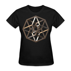 Tesseract Silver - Women's T-Shirt