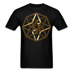 Tesseract Gold - Men's T-Shirt