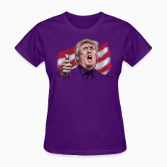 Donald John Trump Women's T-Shirts