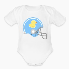Baby Football Helmet Cute Baby Bodysuits