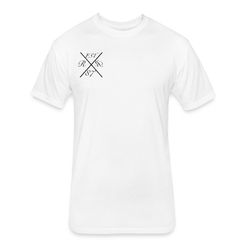 Raw Rebel T-Shirt - Fitted Cotton/Poly T-Shirt by Next Level