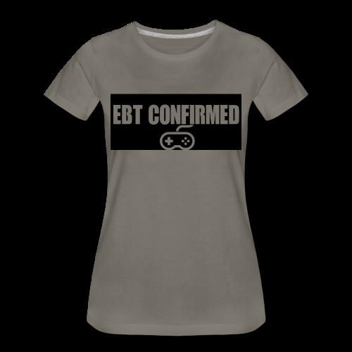 Tshirt/EBT Confirmed logo - Women's Premium T-Shirt