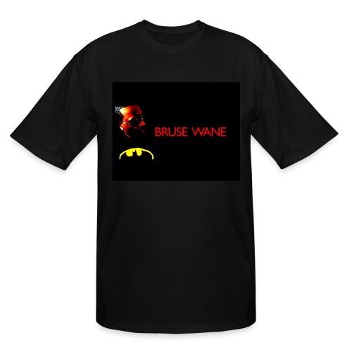 Bruse Wane - Black-T  - Men's Tall T-Shirt