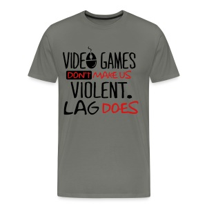 Video Games Geeky Goodness Tee  - Men's Premium T-Shirt