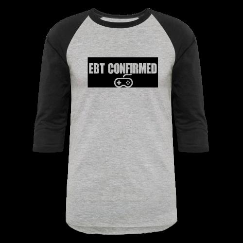 Baseball T/EBT Confirmed logo - Baseball T-Shirt