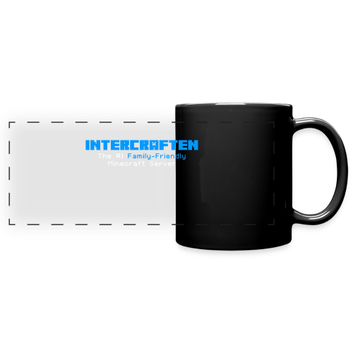 Intercraften Logo Mug - Full Color Panoramic Mug