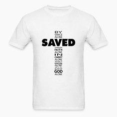 Saved By Grace Cross T-Shirts