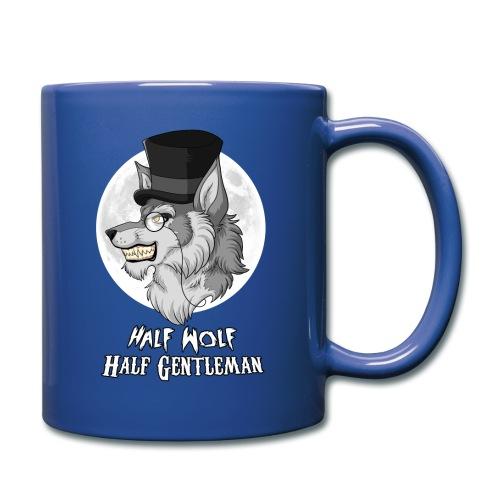 Half Wolf Half Gentleman - Full Colour Mug, ver. 2 - Full Color Mug