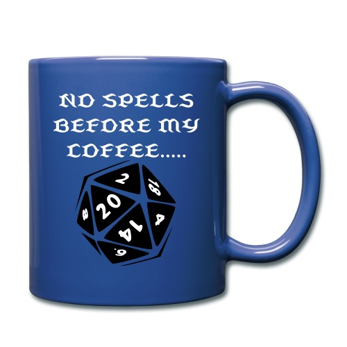 NO SPELLS BEFORE MY COFFEE  - Full Color Mug