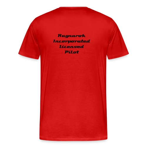 Ragnarok Incorporated Redshirt - Men's Premium T-Shirt