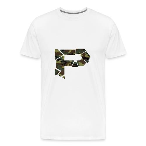 [P] Camo Shirt - Men's Premium T-Shirt