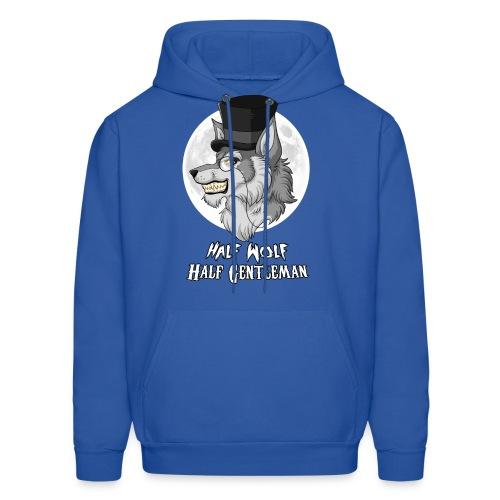 Half Wolf Half Gentleman - Men's Hoodie - Men's Hoodie
