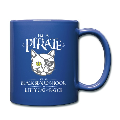 Funny Pirate Kitty - Full Color Mug