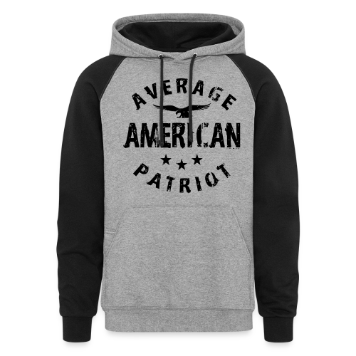 Average American Patriot Hoody - Colorblock Hoodie
