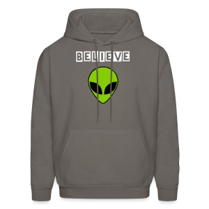 Believe in Aliens - Men's Hoodie