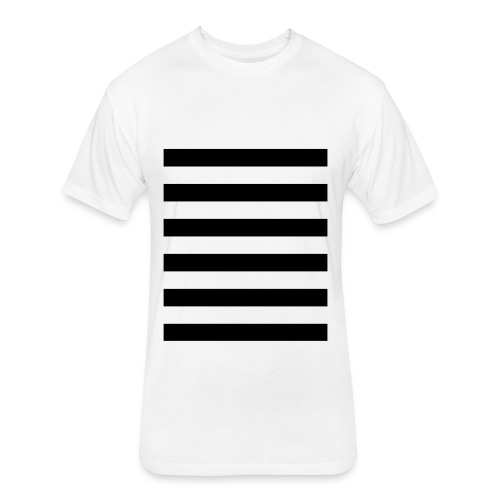 Horizon - Fitted Cotton/Poly T-Shirt by Next Level