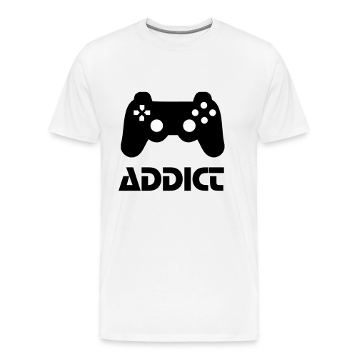 game addict - Men's Premium T-Shirt