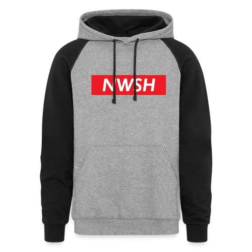 NWSH x Supreme Collab Colorblock Hoodie - Colorblock Hoodie