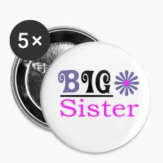 Big Sister Girls Button