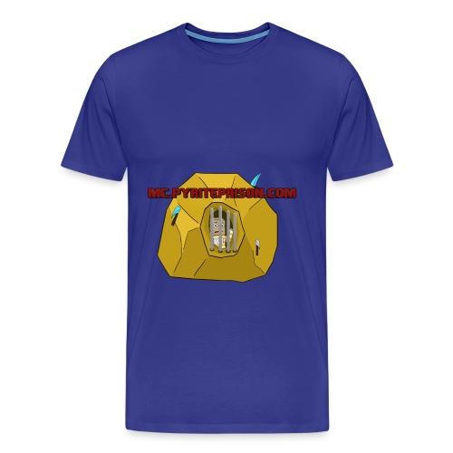 Pyrite Prison T-shirt. (red) - Men's Premium T-Shirt