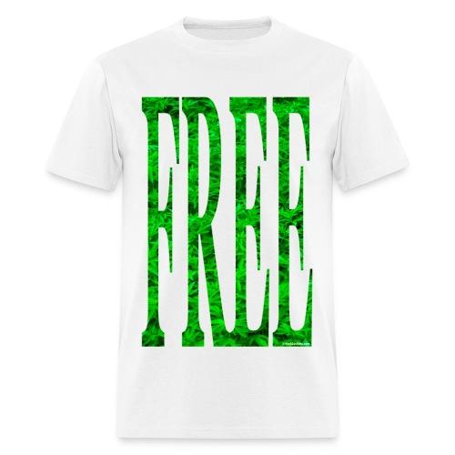 Free Cannabis - male - Men's T-Shirt