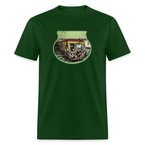 Trainwreck (strain) - male - Men's T-Shirt
