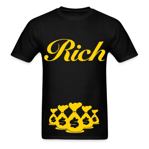 $uperior king$ Rich Bo$$man Tee - Men's T-Shirt