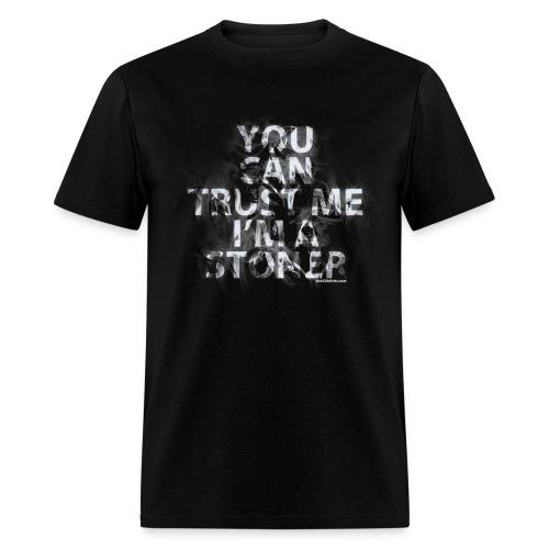 trust me, i'm a stoner - male - Men's T-Shirt
