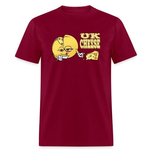 UK_ Cheese (strain) - male - Men's T-Shirt