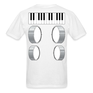 Mens Musical Massage T-Shirt - Men's T-Shirt
