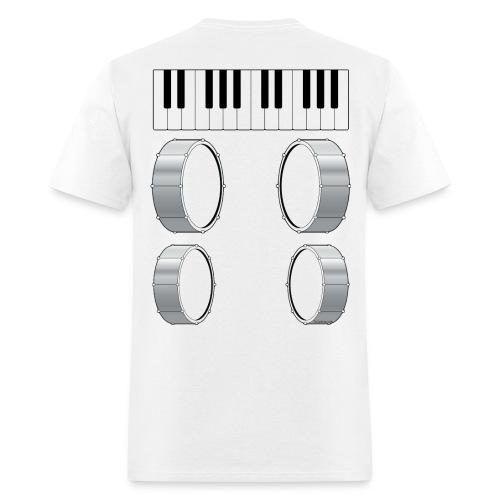 Mens Musical Massage T-Shirt - Men's T-Shirt