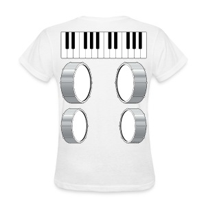 Womens Musical Massage T-Shirt - Women's T-Shirt