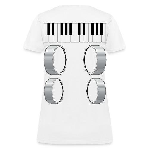 Womens Musical Massage T-Shirt - Women's T-Shirt