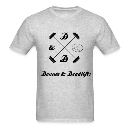 Donuts & Deadlifts Men's T-Shirt - Men's T-Shirt