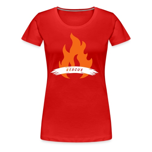 #004 Rescue - Women's Premium T-Shirt