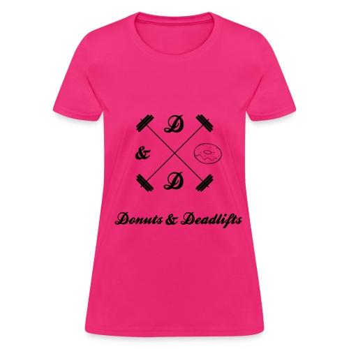Donuts & Deadlifts Women's T-Shirt - Women's T-Shirt
