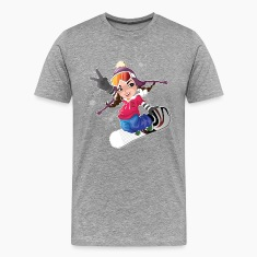 Snow boarding T-Shirts