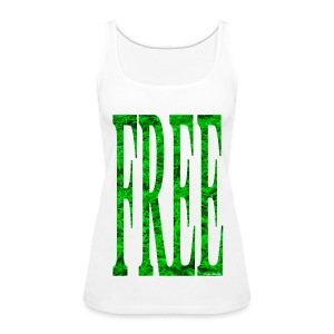 Free Cannabis - female - Women's Premium Tank Top